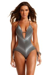 One Piece Monokini Halter